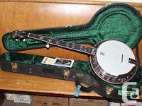 On offer is a new Deering Golden Era Bluegrass 5-string
