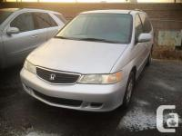 Calgary Pre-owned Car Sales 2001 Honda Odyssey EX seven
