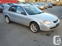 2002 mazda protg 102k km monthly payment can be $150
