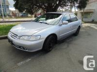2002 HONDA ACCORD SPECIAL EDITION four DOOR AUTOMATIC