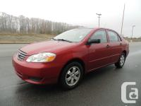 2005 TOYOTA COROLLA CE4DR AUTOMATIC 4CYLENGINE GREAT ON