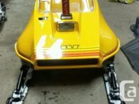 Rare Vintage Skidoo RV 340 fully restored. completely