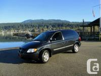 Dodge Caravan is a minivan standard! Loads of space and