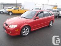 2002 Mazda Protege5 Wagon. automatic transmission.