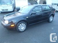 2003 VW Golf CL. automatic transmission. powered by a