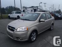 2011 Chevrolet Aveo LT four Door Sedan. 1.6L. four cyl.