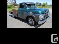 1960 Ford F-100 Customized A total frame off