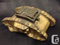 Rare antique WW1MK IV brass or metal tank inkwell circa