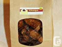 Chaga ''The Gift From God''100% natural From Canada