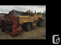 1988 Oshkosh W700 R15 Industrial Snowblower two