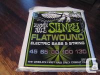 Ernie Ball five String Regular Slinky Flatwound
