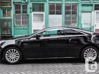 2013 Cadillac CTS 3.6L BLACK ON BLACK INTERIOR six GEAR