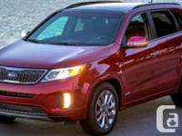 2014 Kia Sorento SXPurchased new from Kia Vancouver and