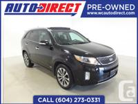 This fully loaded 2014 Kia Sorento is equipped with a