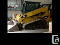 2008 CATERPILLAR 257B2, 3479 hrs Comes with heat and