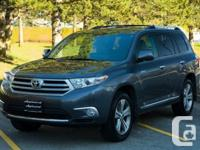 This 2011 Toyota Highlander V6 Limited is family