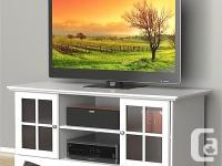 Stylized and practical, the Pinnacle television stands