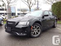 Only $34998 Just Arrived! BLACK Chrysler 300 S 3.6L V6