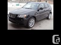 2011 BMW X3 35i Black-sapphire metallic - Direct
