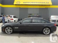 2010 BMW 750 LXI 4DRSDN...THIS LOCAL BC UNIT WITH NO