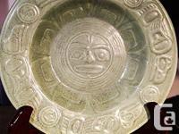 LyleWilson Pottery Bowl Plate Raven Light UBC Haisla