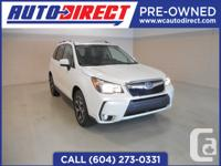 2015 Forester XT Touring 2.0l Turbo All Wheel Drive Key