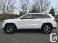 Fully loaded Jeep Grand Cherokee limited . No accidents
