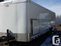 8.5x26 Enclosed Office Trailer with 8K Generator and
