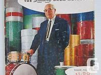 Vintage The Ludwig Drum Method book #1 Original print