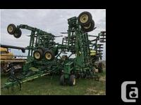 1999 John Deere 1820 Drill. Pulled drill with 9350