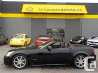 2007 CADILLAC XLR CONVERTIBLE...THIS ACCIDENT FREE UNIT for sale  British Columbia