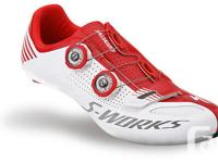 ProsBin.com Specialized S-Works Road Shoes White and