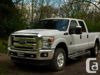 Feel the incredible power in this 2014 Ford F-350 XLT.