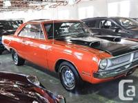 1970 Dodge Dart Scatpack ORANGE ON BLACK INTERIOR