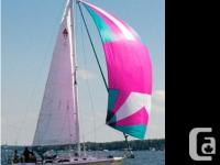 1987 Catalina 30SL Sailboat. PRICE REDUCED. This vessel