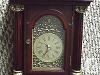A beautiful clock. A little heavy for its size and well