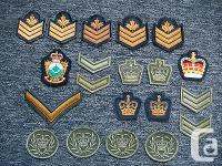 Here is a lot of twenty Military Patches. They are in