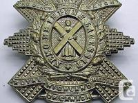 From a WWI /WWII Cap Badge Lot we acquired. We will be