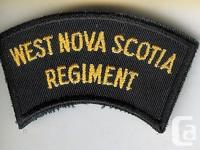 An obsolete modern Canadian Army West Nova Scotia