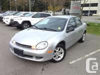 Only $4998 Just Arrived! Grey Chrysler Neon 2.0L L4