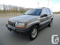 2001 JEEP GRAND CHEROKEE LAREDO 4X4 AUTOMATIC AIR