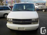 2005 CHEVROLET ASTRO eight PASSENGER EXTENDED VAN THIS