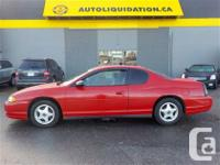 2004 CHEVROLET MONTE CARLO LS...THIS LOCAL BC UNIT IS