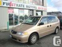 2002 HONDA ODYSSEY LX. LOCAL VAN. NO ACCIDENT. ONLY