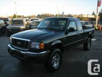 2004 FORD RANGER.EXT CAB.4X4 .**AUTOMATIC. POWERED