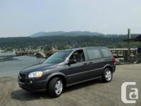 Uplander is a great minivan with a sporty feel and