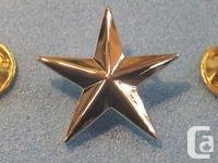 You are viewing a US Military General's Star... shiny