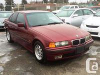 Calgary Pre-owned Car Sales 1997 BMW 3 Series 318i