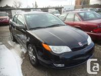2005 Saturn Ion Quad Coupe two door Manual Tr. LOW