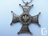Very original, Polish (PSZnZ) WWII Virtuti Militari